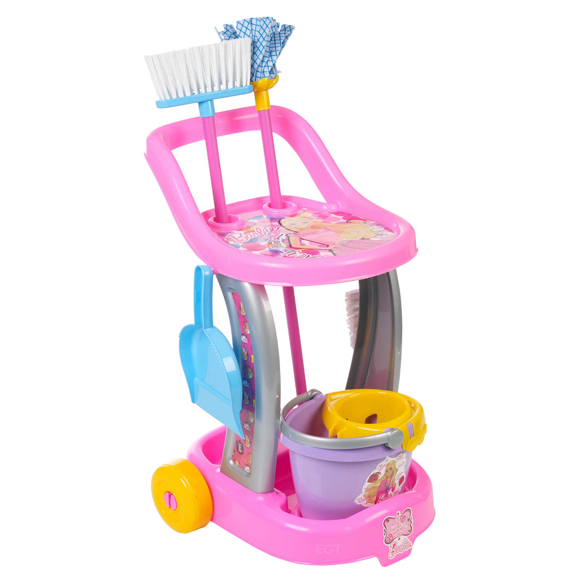 Barbie - Troller de curatenie