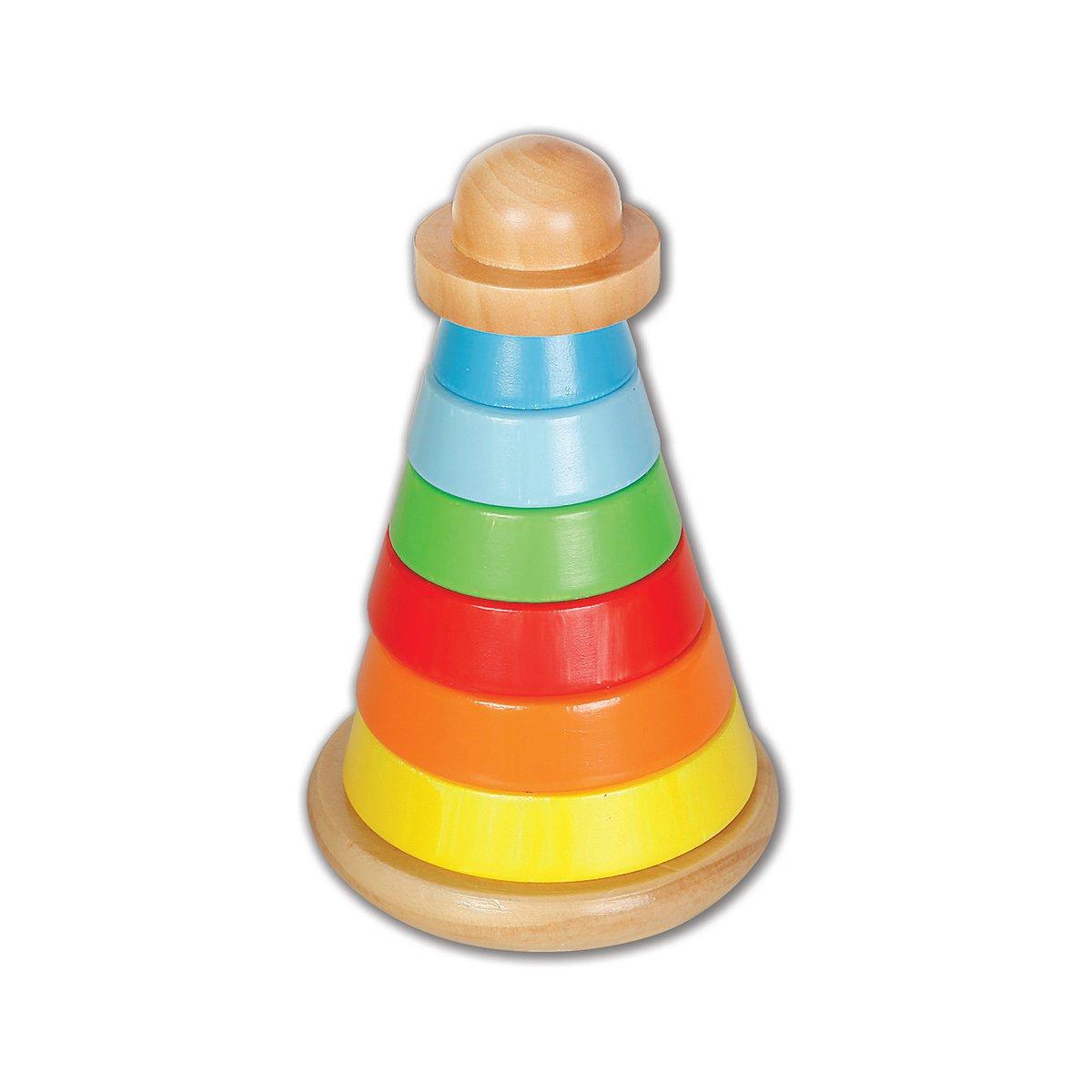 Jucarie bebelusi Turnulet cu forme colorate, Beeboo