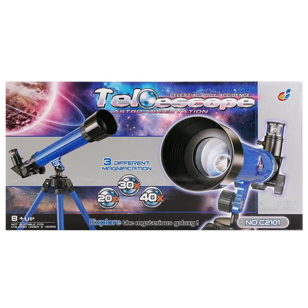Telescop cu trepied Best Luck, 20x/30x/40x