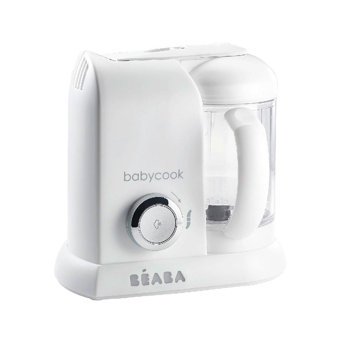 Robot pentru gatit Beaba Babycook Solo White Silver imagine