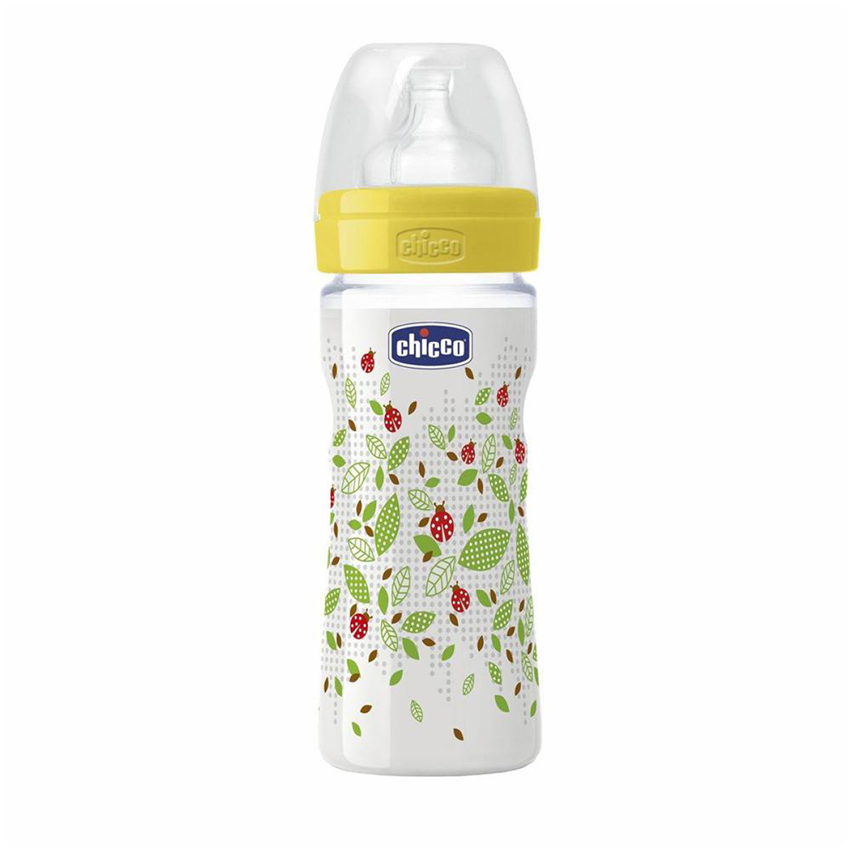 biberon chicco wellbeing pp, +2 luni, 250ml