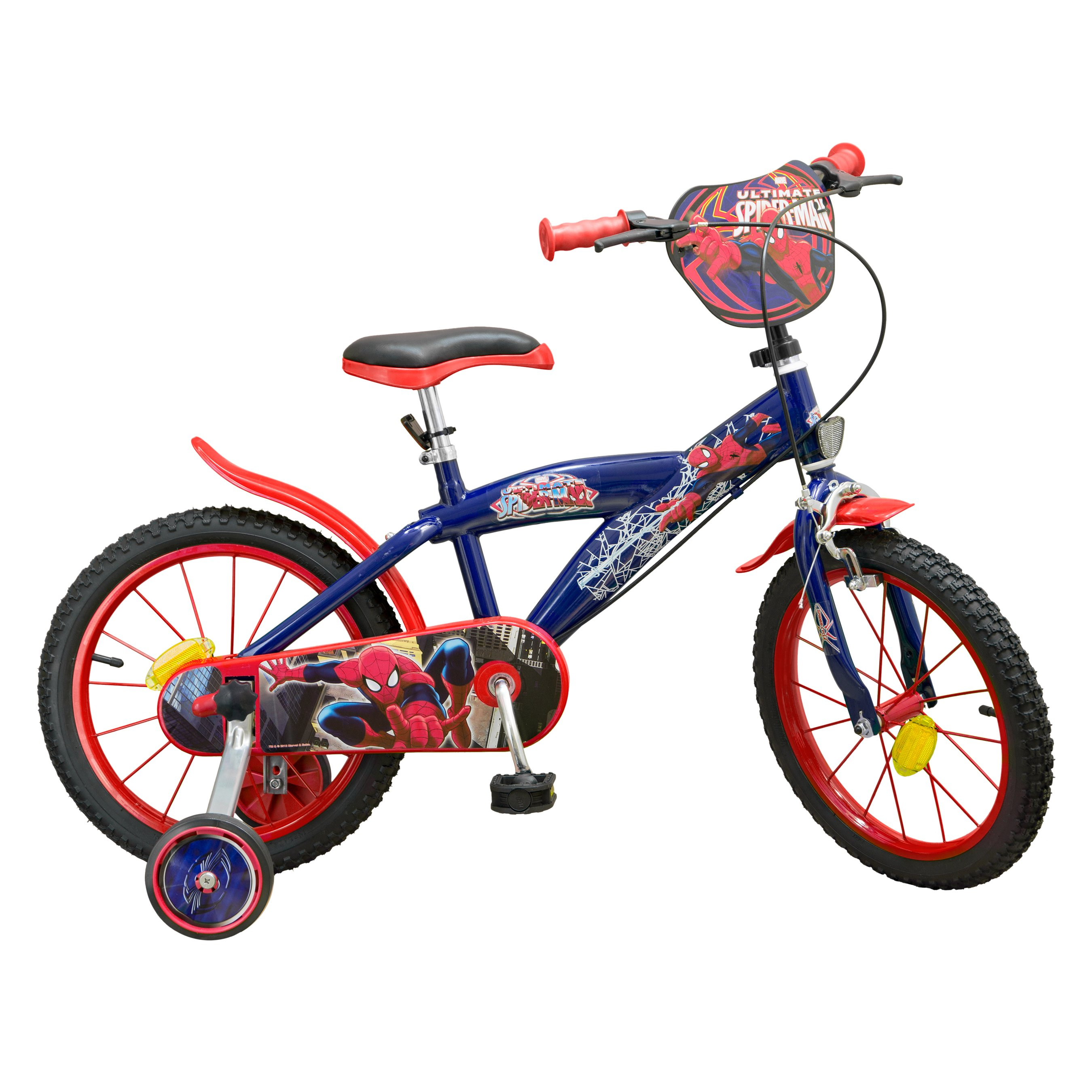 bicicleta copii spiderman 16 inch