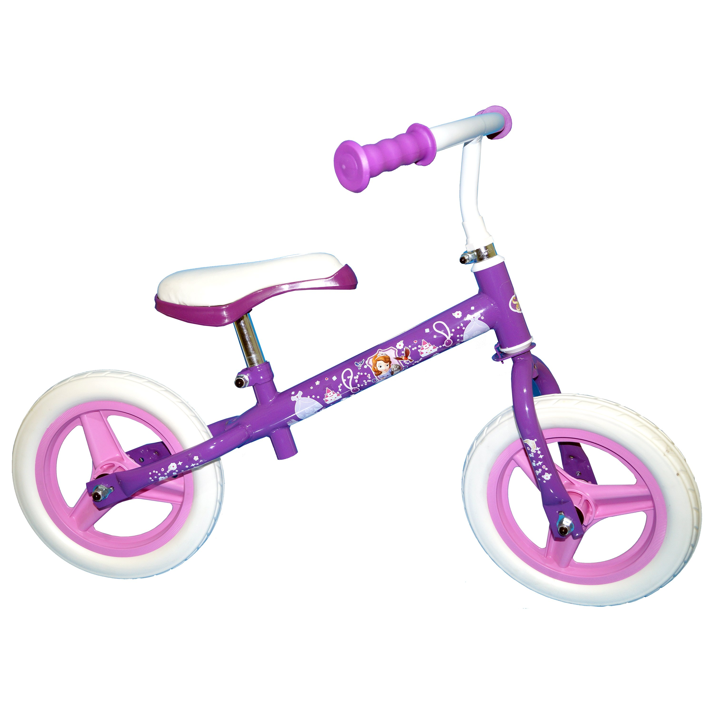 bicicleta fara pedale toimsa printesa sofia - 10 inch