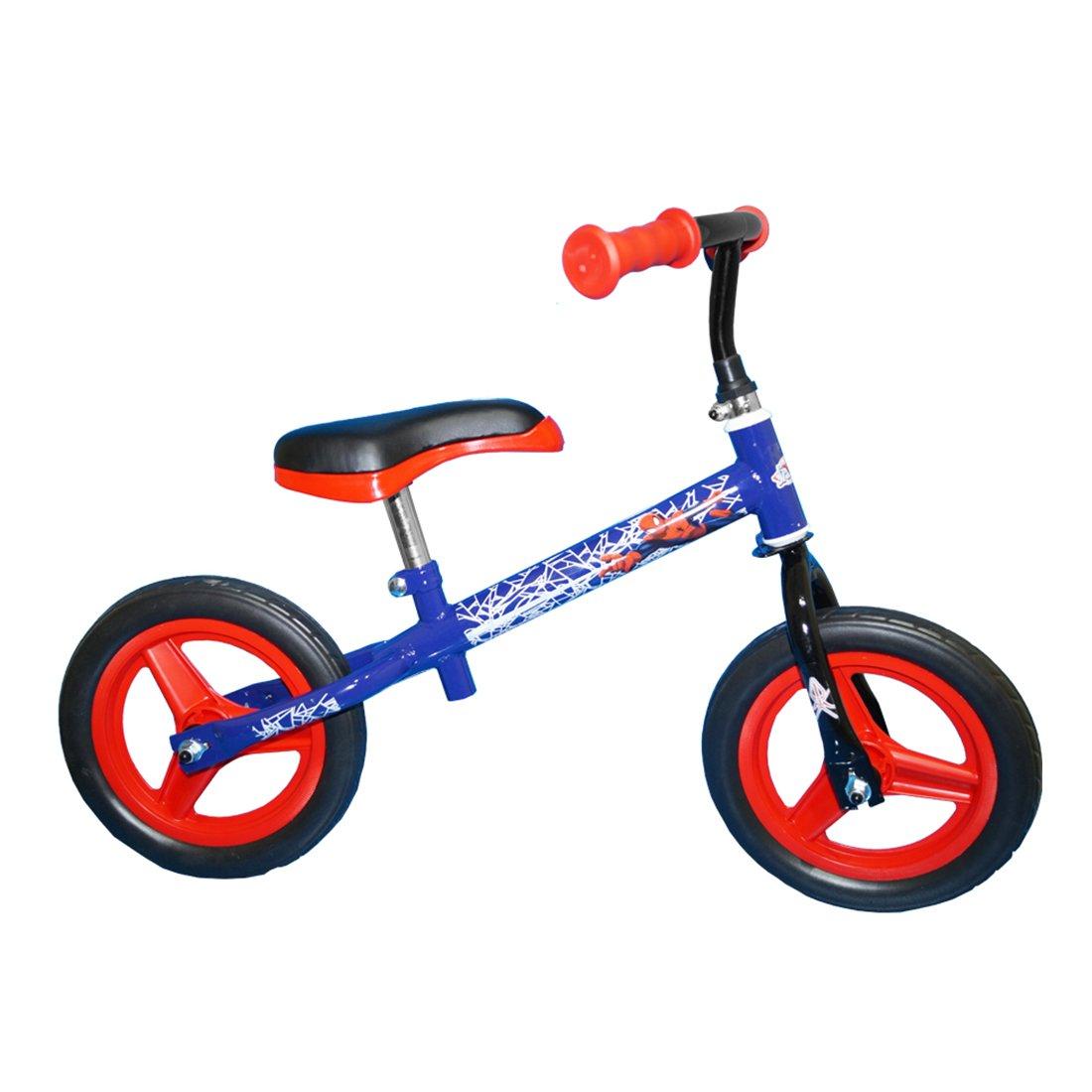 Bicicleta fara pedale Toimsa Spiderman - 10 inch