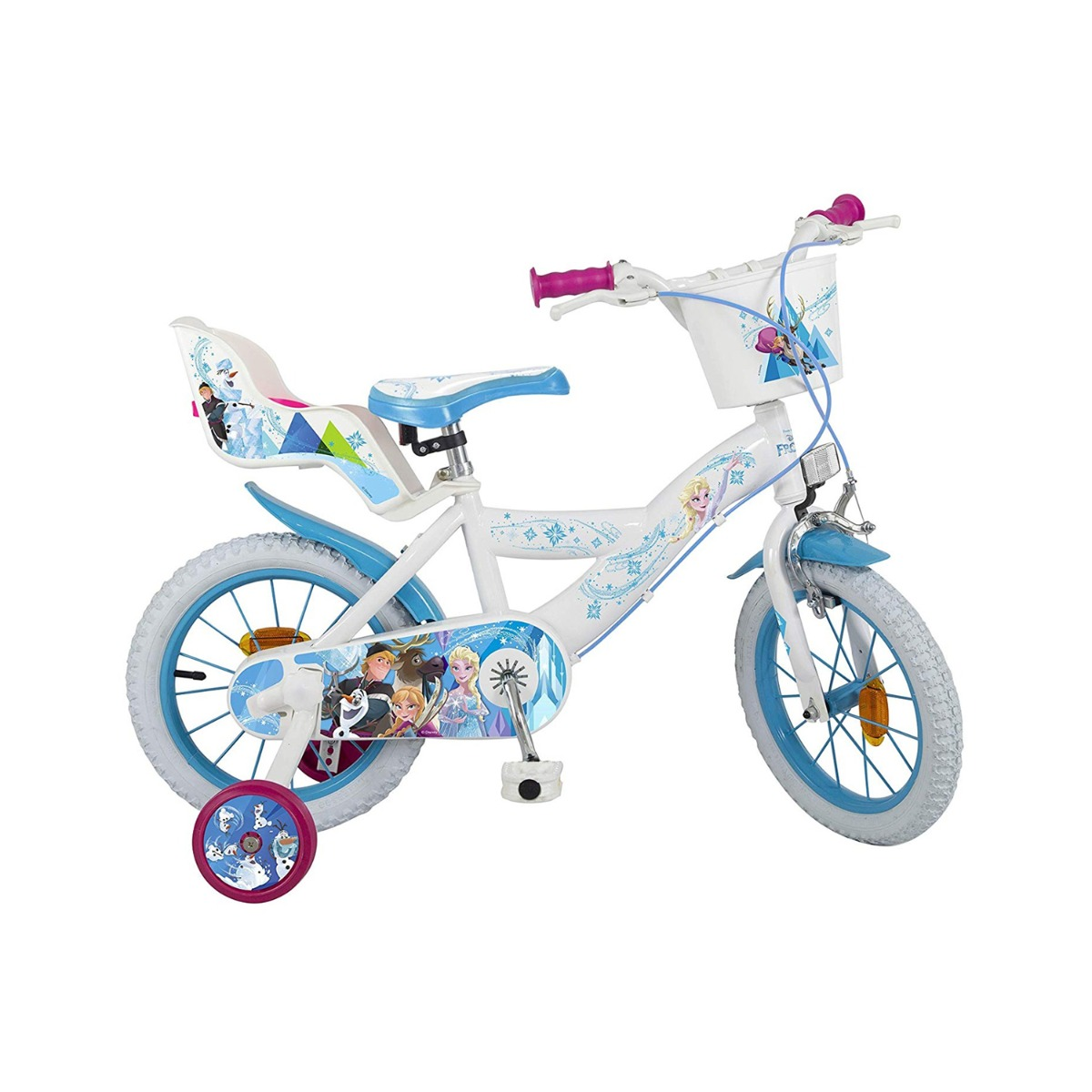 Bicicleta copii Disney Frozen 12 inch