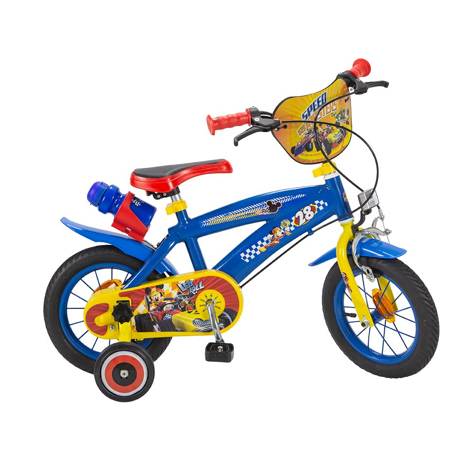 Bicicleta copii Mickey Mouse, 12 inch imagine 2021