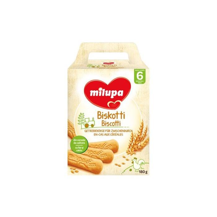 Biscuiti Milupa Biskotti din cereale, 180g imagine