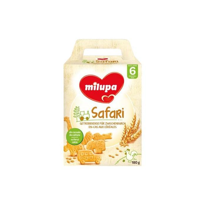 Biscuiti Milupa Safari din cereale, 180g imagine