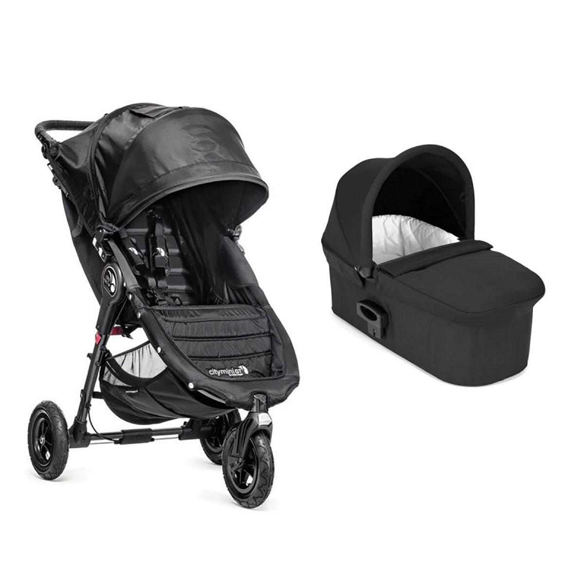 Carucior Baby Jogger City Mini Gt, Black, Sistem 2 In 1