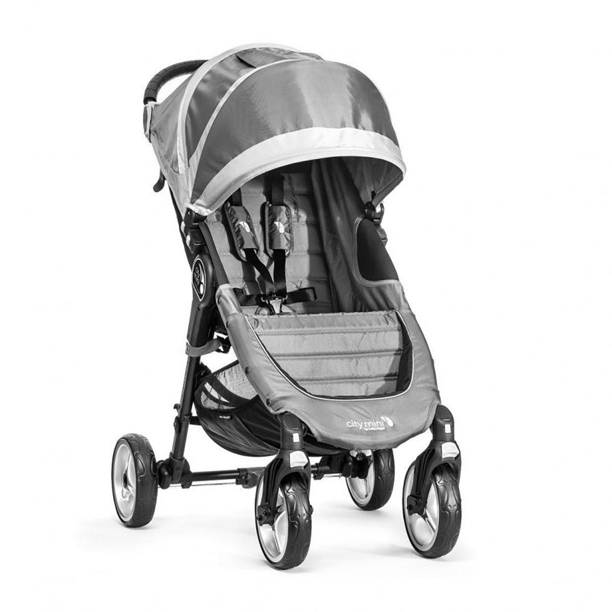 Carucior Baby Jogger City Mini 4, Steel Grey, Sand