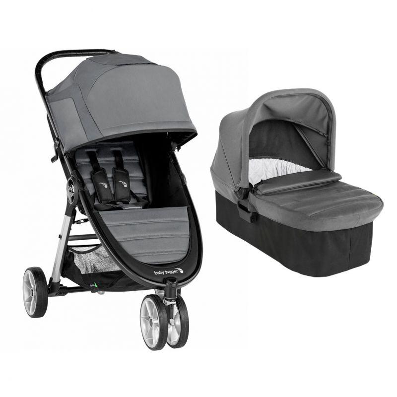 Carucior Baby Jogger City Mini 2 Slate, Sistem 2 In 1