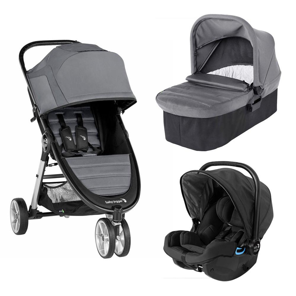 Carucior Baby Jogger City Mini 2 Slate, Sistem 3 In 1