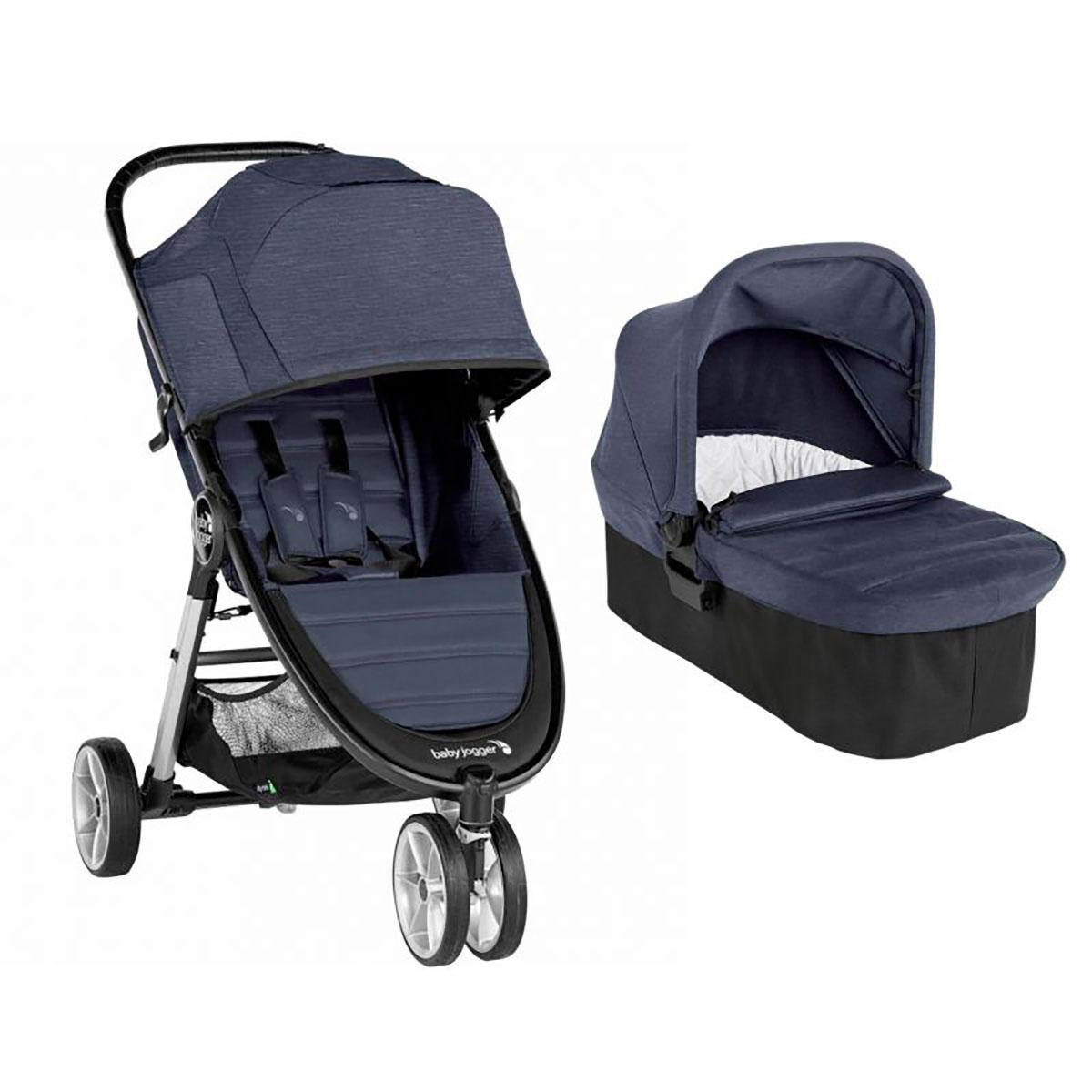 Carucior Baby Jogger City Mini 2 Carbon, Sistem 2 In 1