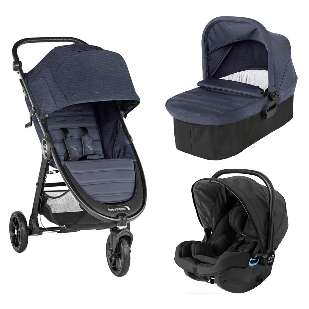 Carucior Baby Jogger City Mini Gt 2 Carbon, Sistem 3 In 1