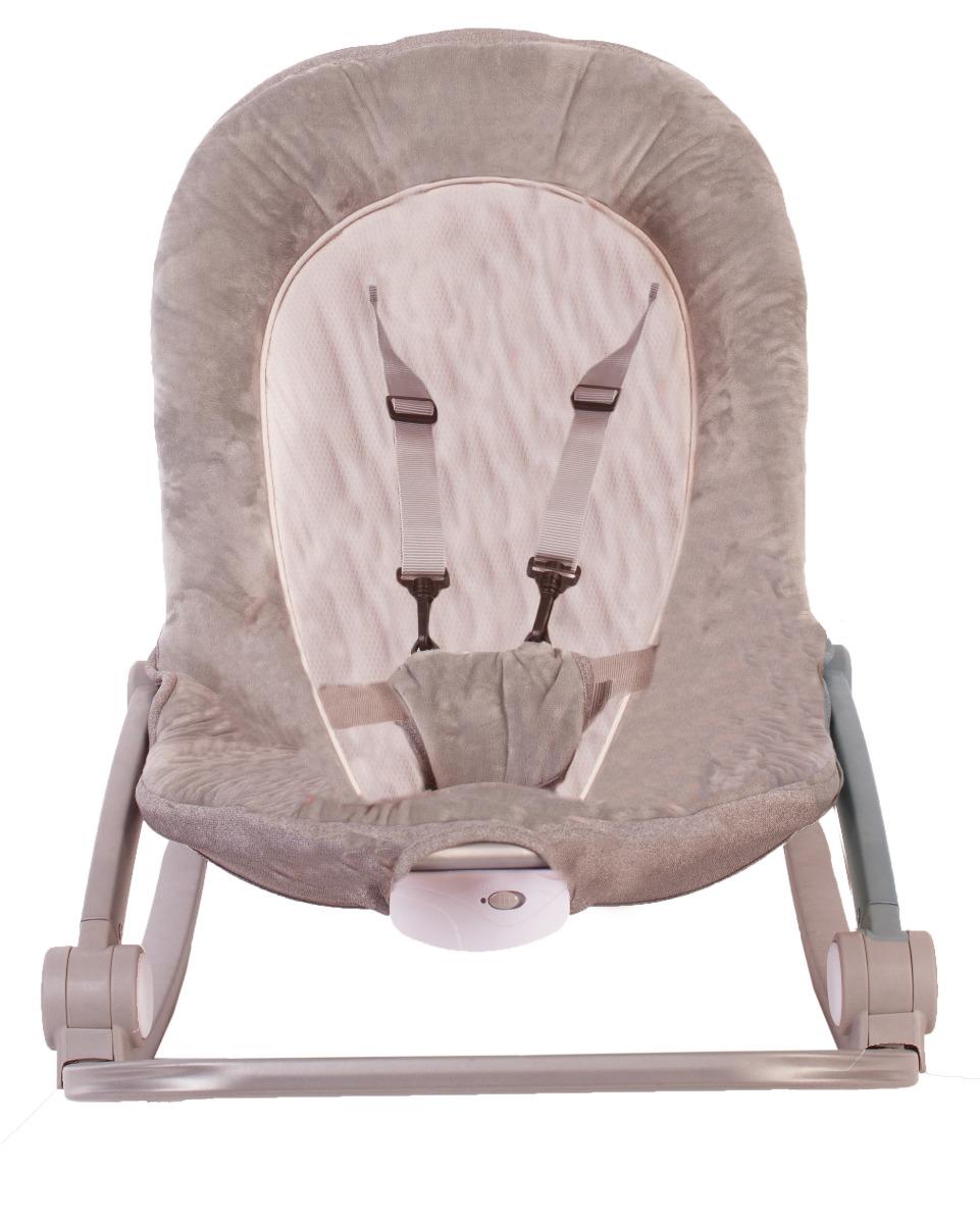 Sezlong cu vibratii BO jungle Bej pentru bebelusi cu arcada jucarii imagine