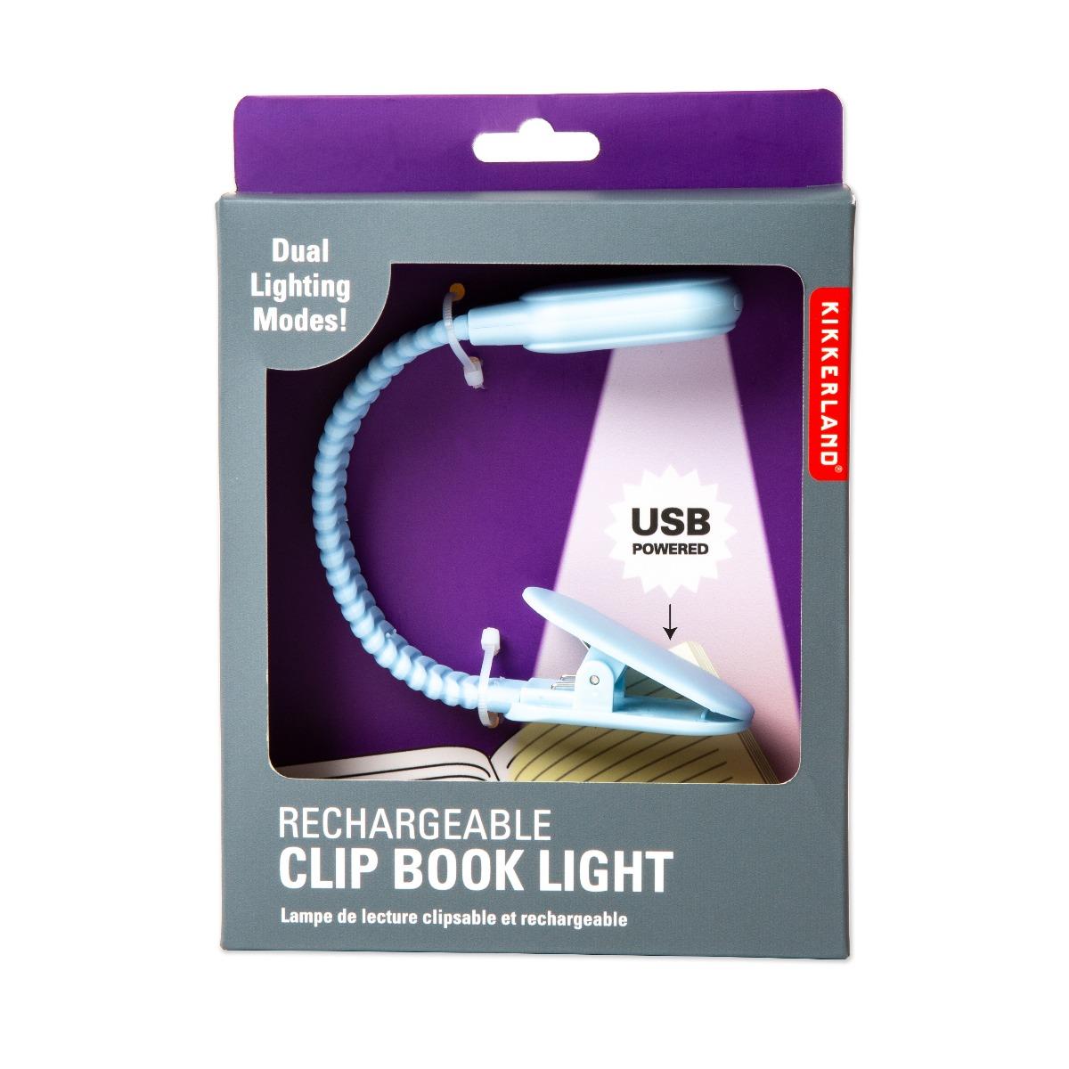 Lampa de citit cu USB, Noriel Impulse, Albastru imagine 2021