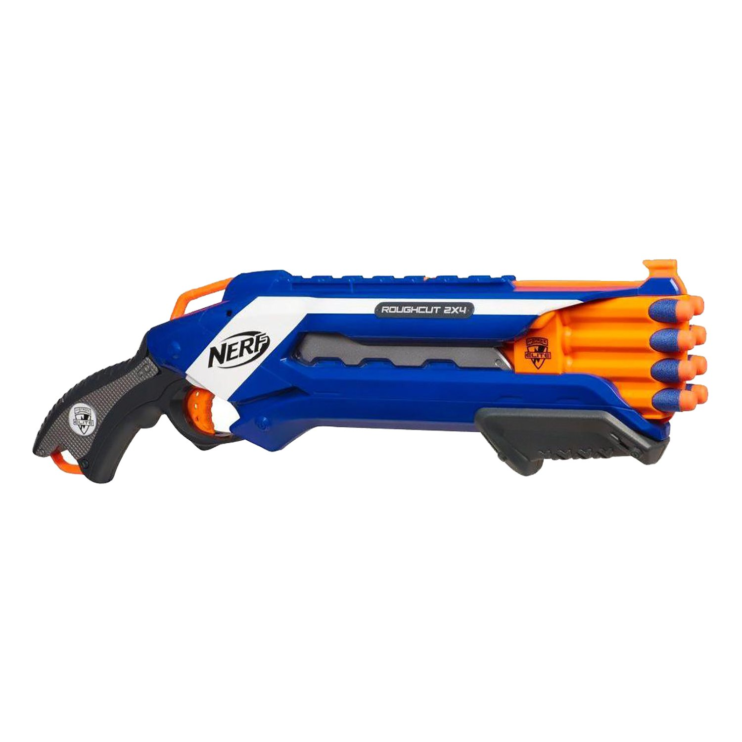 Blaster Nerf N-Strike Elite Rough Cut 2X4 imagine 2021