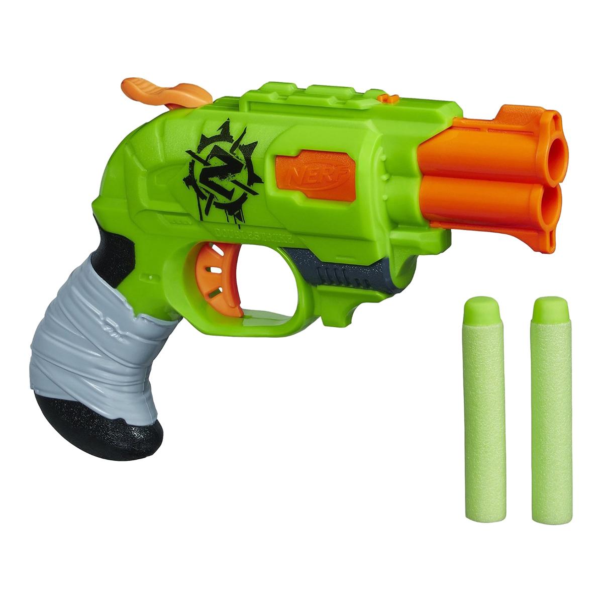 blaster nerf zombie strike doublestrike