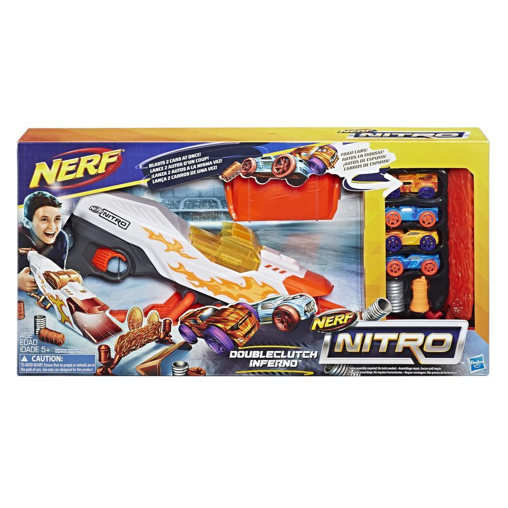 Blaster Nerf Nitro Doubleclutch Inferno imagine 2021