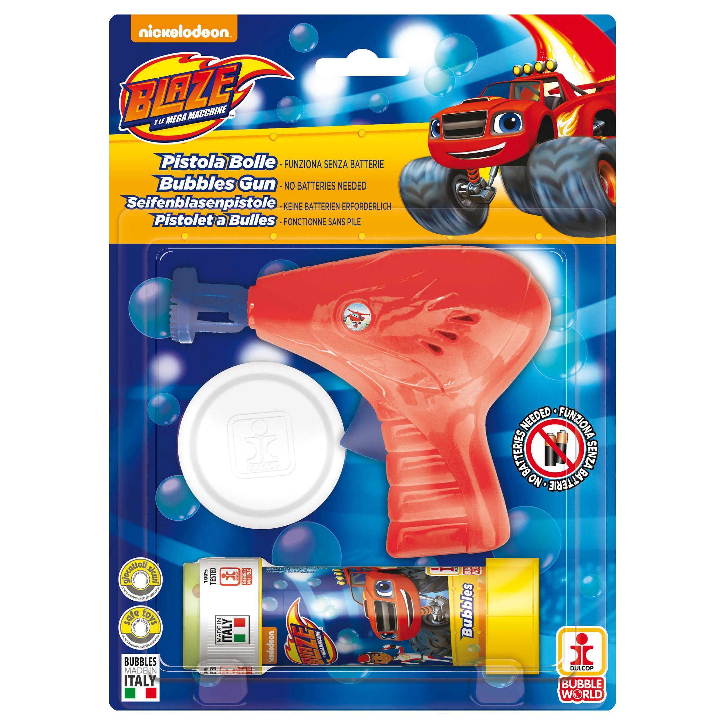 Blaze - Pistol baloane de sapun