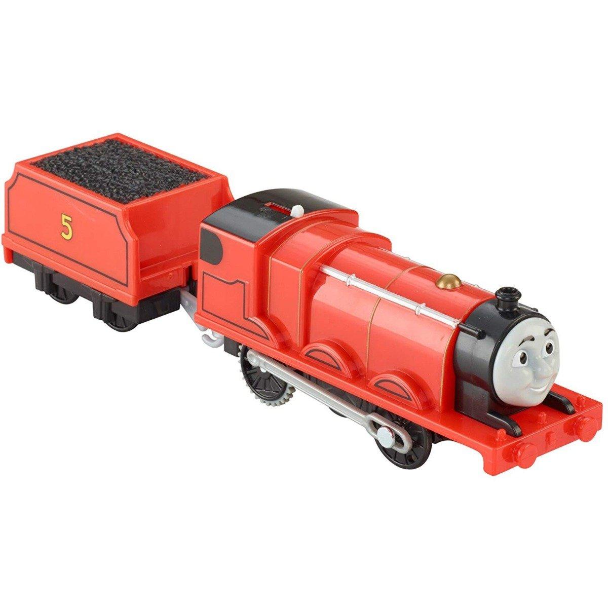 Set locomotiva si vagon Thomas & Friends Trackmaster - James (BML08)