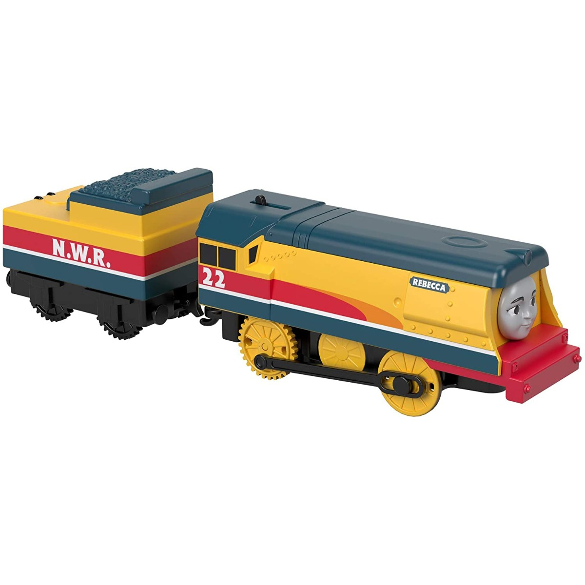 Set locomotiva si vagon Thomas & Friends Trackmaster, Rebecca GDV30