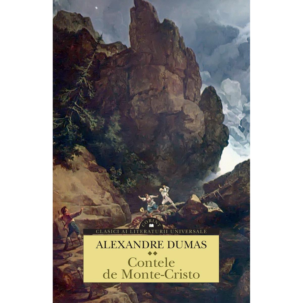 Carte Editura Corint, Contele De Monte-cristo. 2 Volume, Alexandre Dumas