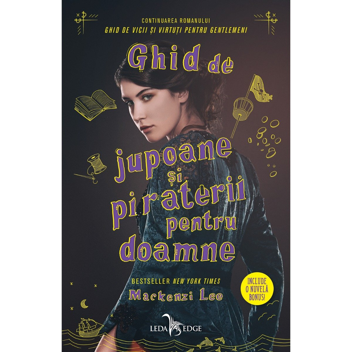 Carte Editura Corint, Ghid de jupoane si piraterii pentru doamne, Mackenzi Lee imagine