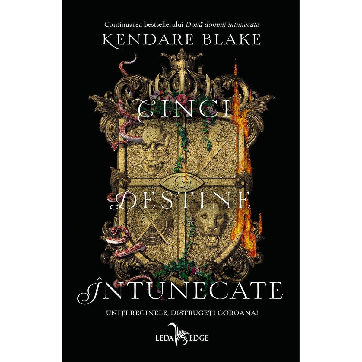 Carte Editura Corint, Cinci destine intunecate vol. 4, Kendare Blake imagine