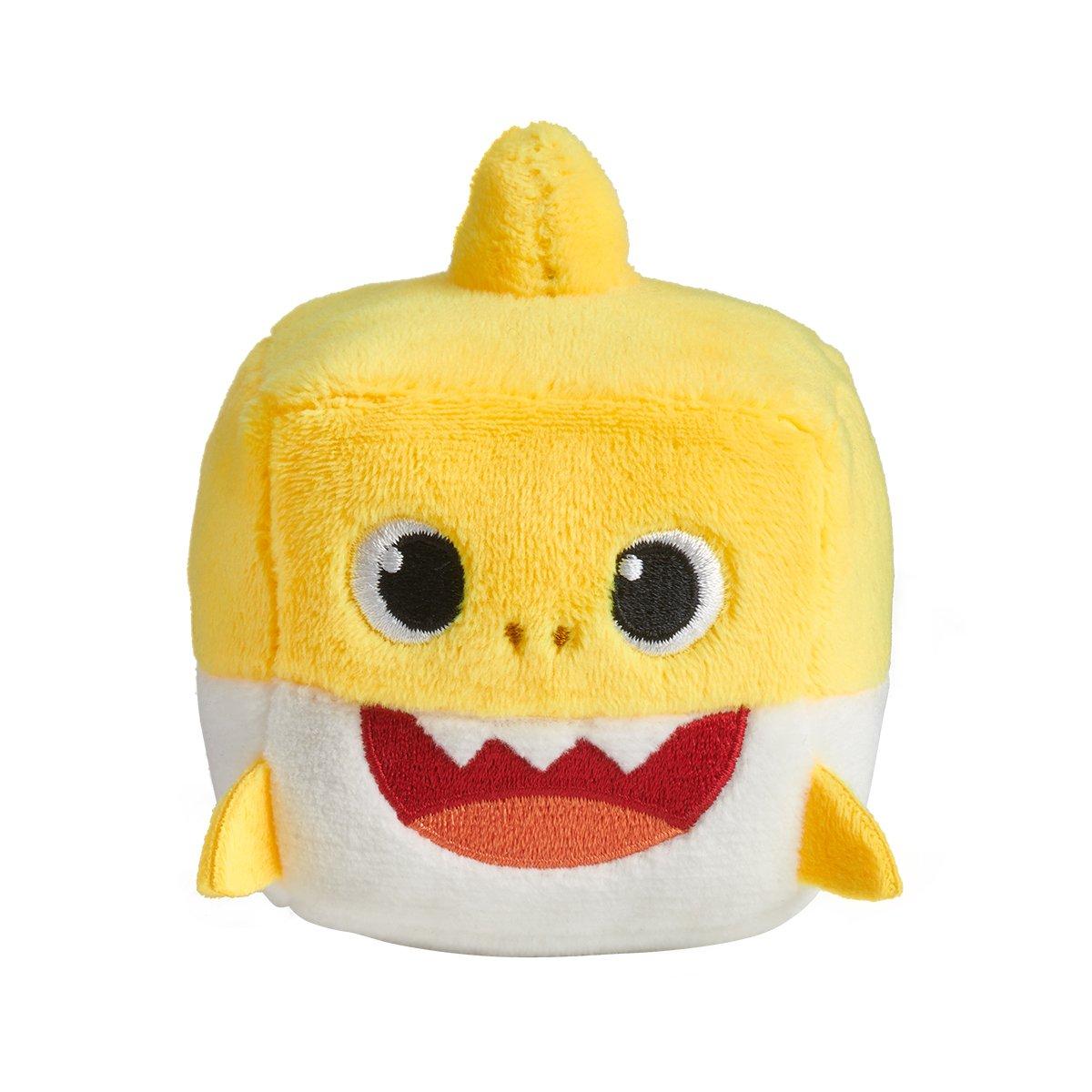 Jucarie interactiva cu sunete Baby Shark, Rechin, Galben
