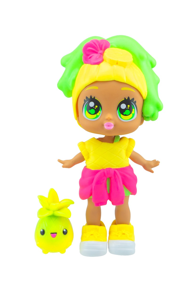 Papusa Bubble Trouble Doll Pineapple Squeeze Wave 1