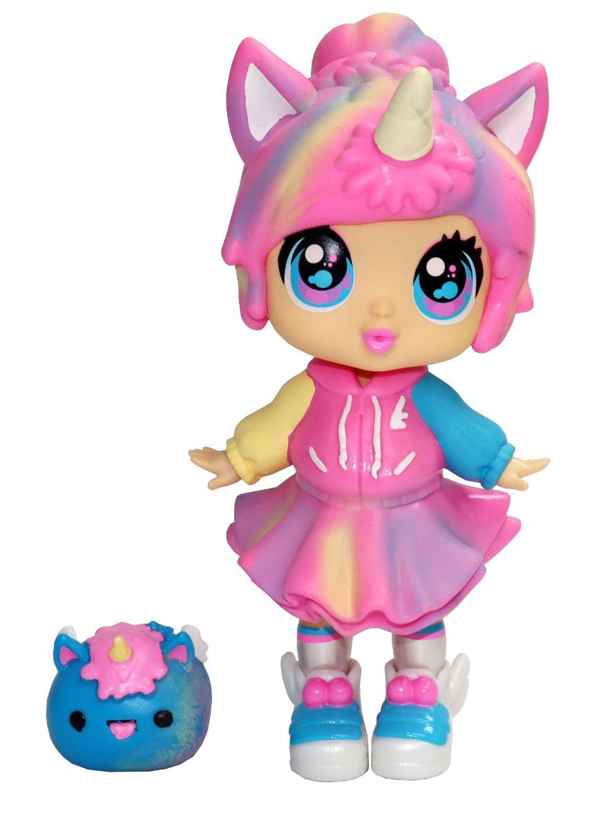 Papusa Bubble Trouble Doll Rainbow Bubblegum Unicorn Wave 2