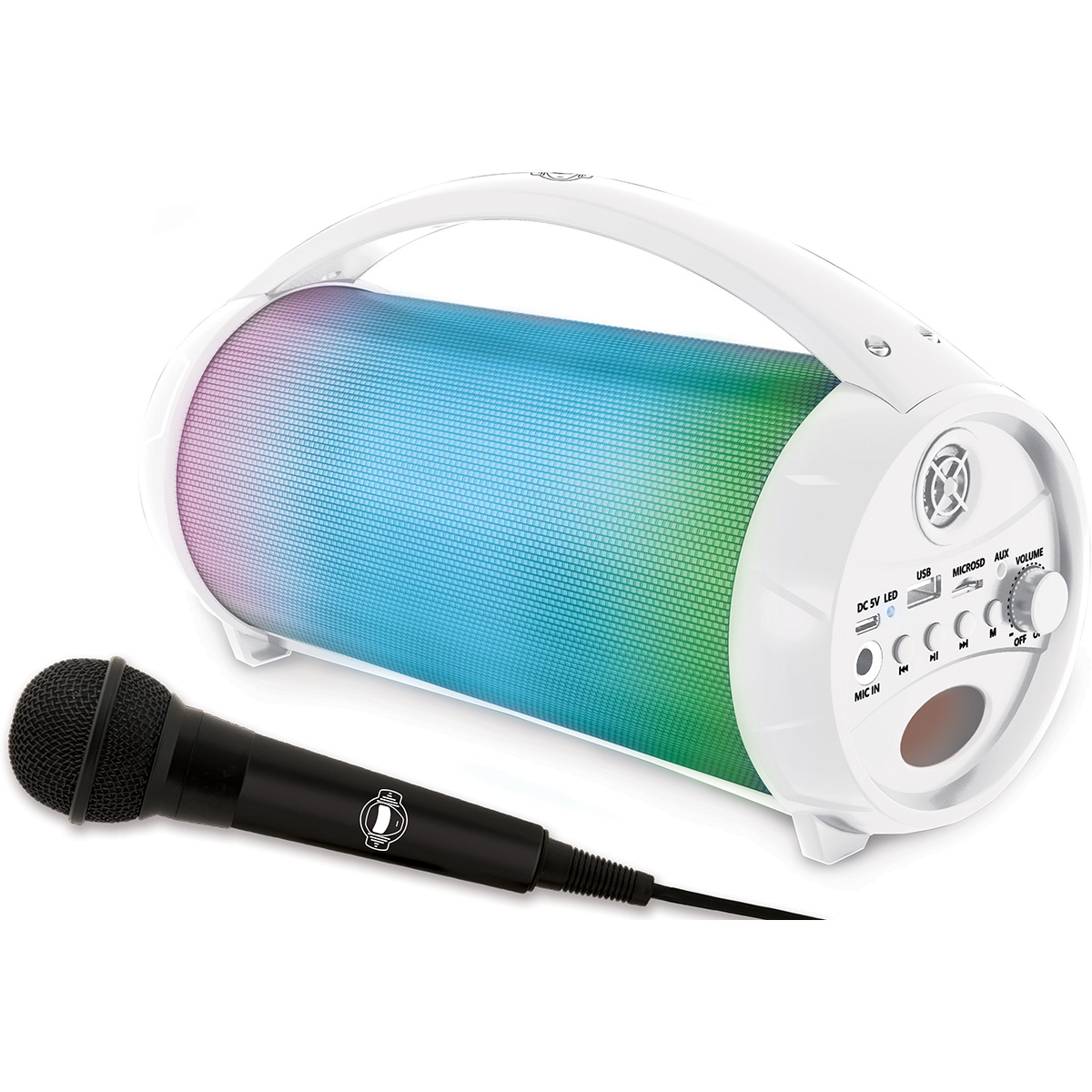 Boxa bluetooth cu lumini si microfon Lexibook