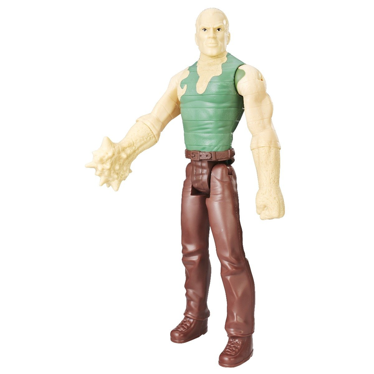 figurina spiderman titan hero, sandman, 30 cm