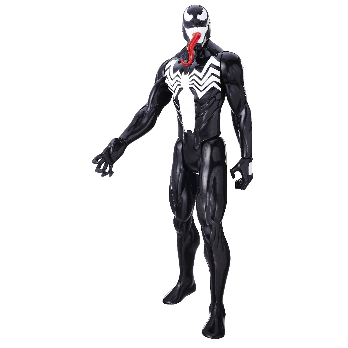 figurina spiderman titan hero, venom, 30 cm