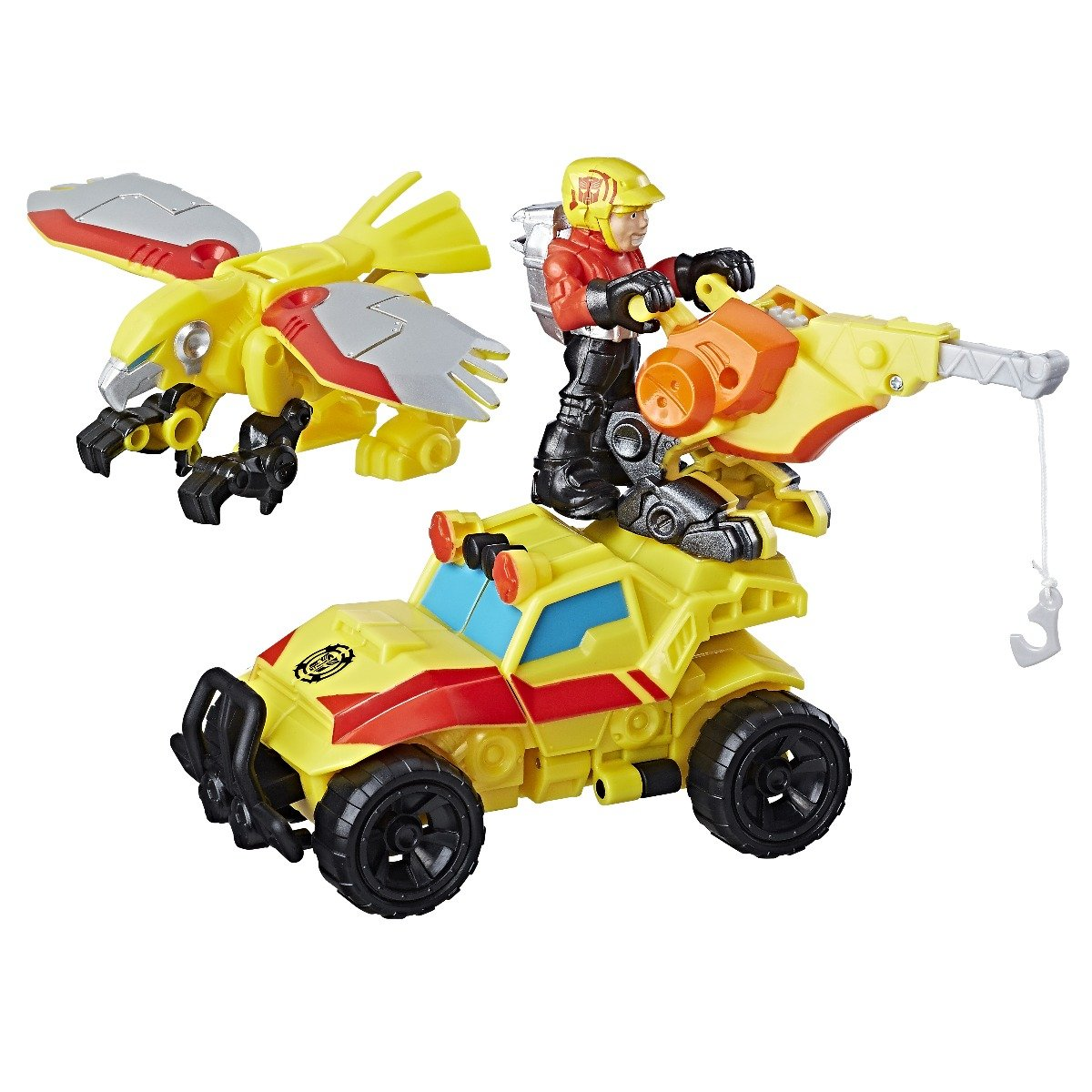 set transformers - echipa de salvare a lui bumblebee, rock rescue team