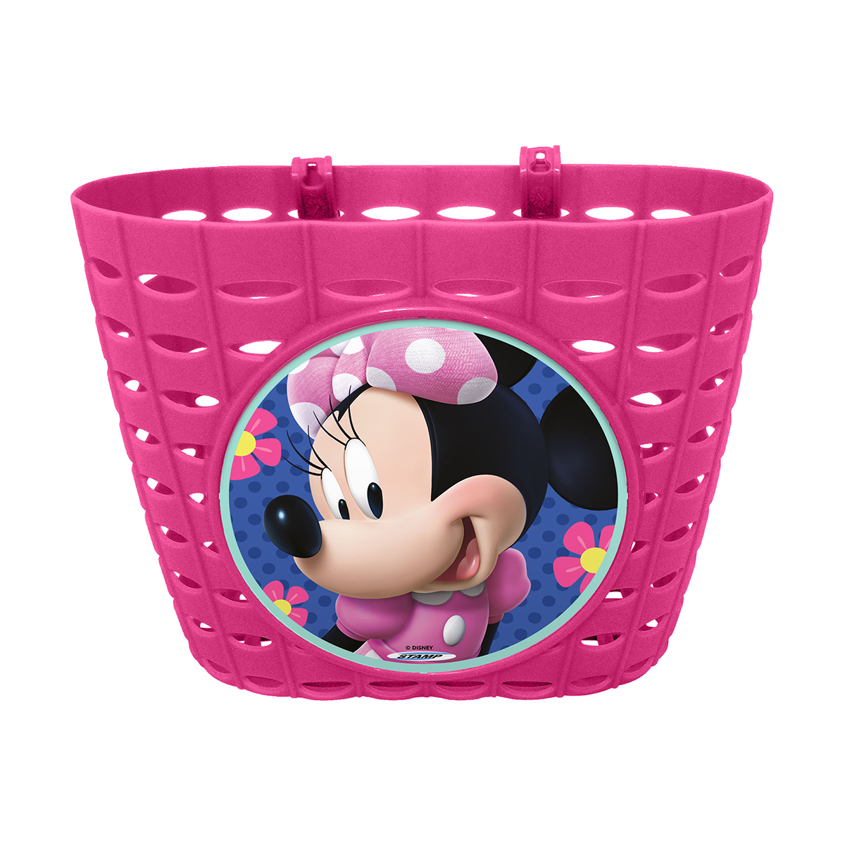Cos pentru bicicleta Disney Minnie Mouse, Roz