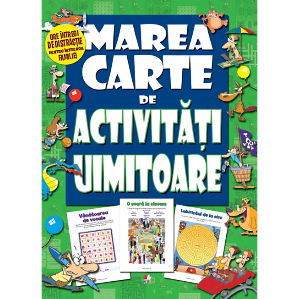 Carte Editura Litera, Marea carte de activitati uimitoare