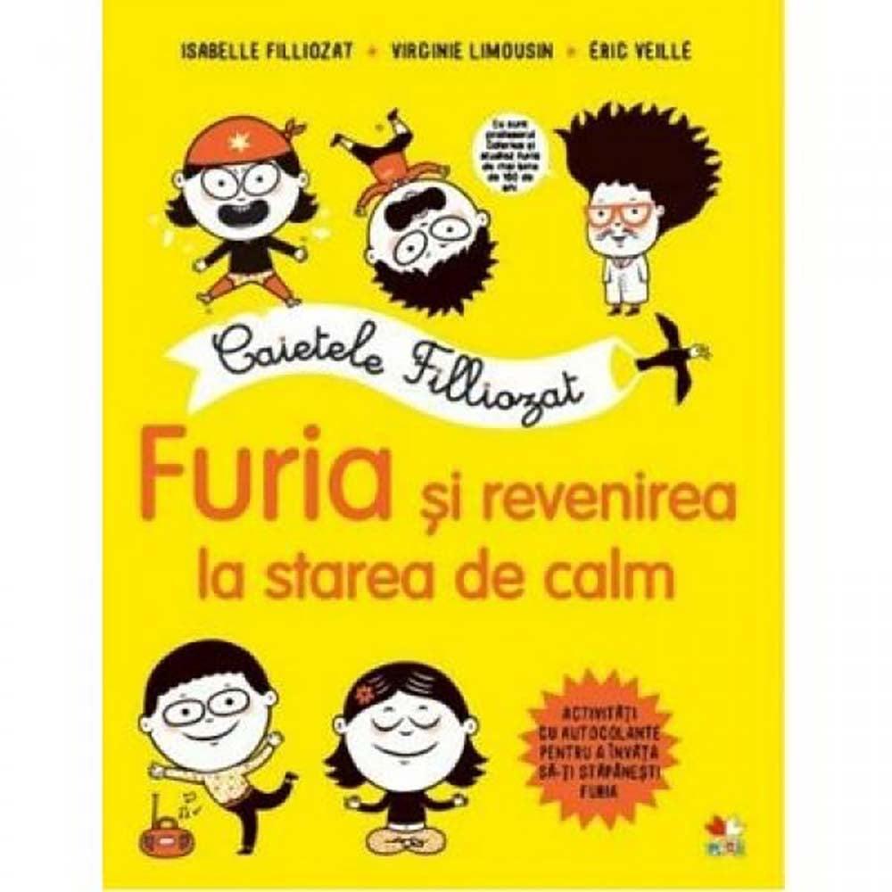 Carte Editura Litera, Caietele Filliozat. Furia si revenirea la starea de calm