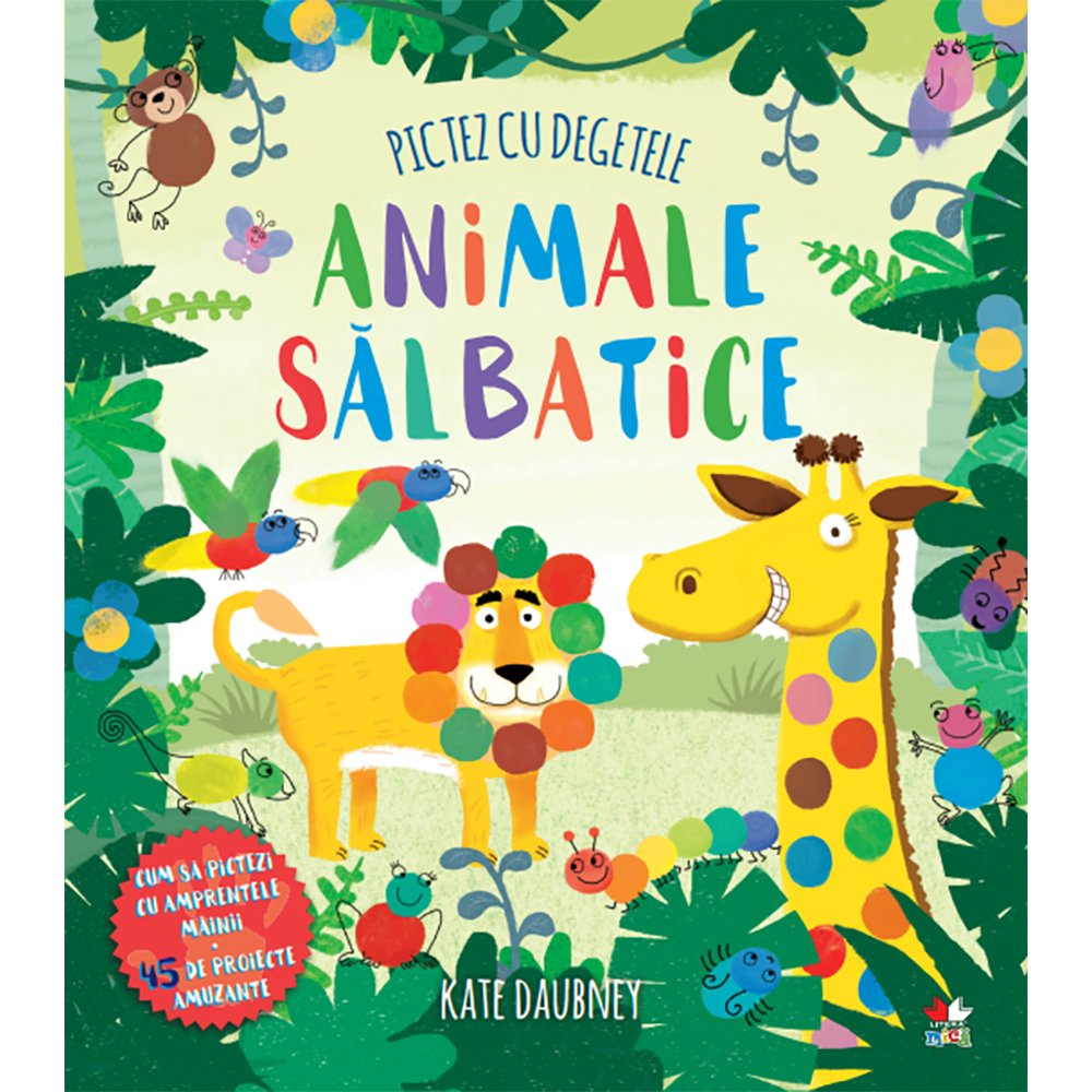 Carte Editura Litera, Pictez cu degetele. Animale salbatice