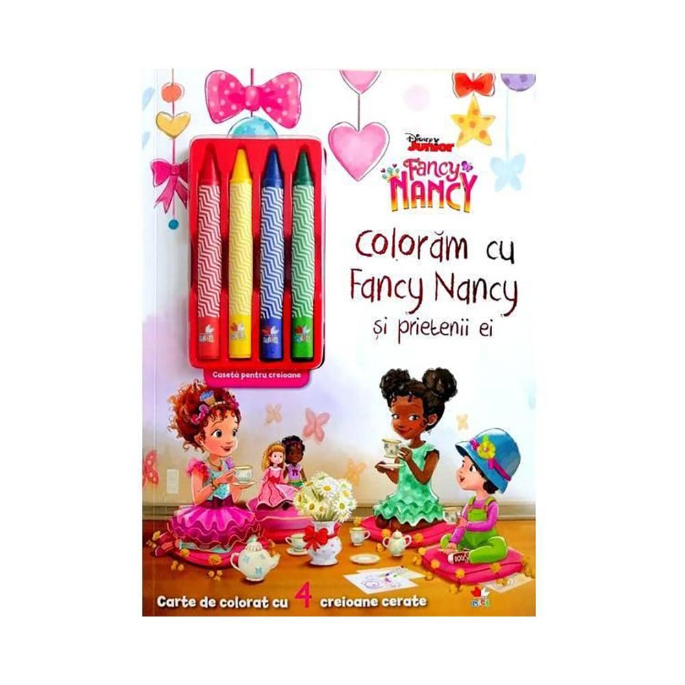 Carte Editura Litera, Coloram cu Fancy Nancy si prietenii ei