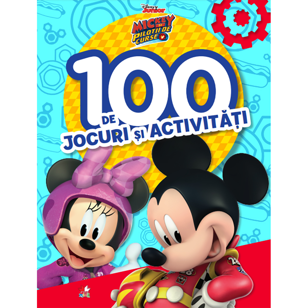Carte Editura Litera, Disney. Mickey si pilotii de curse. 100 de jocuri si activitati