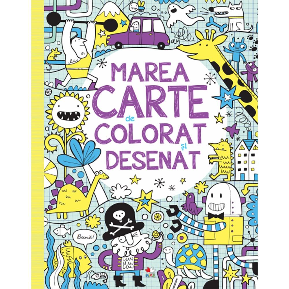 Carte Editura Litera, Marea carte de colorat si desenat