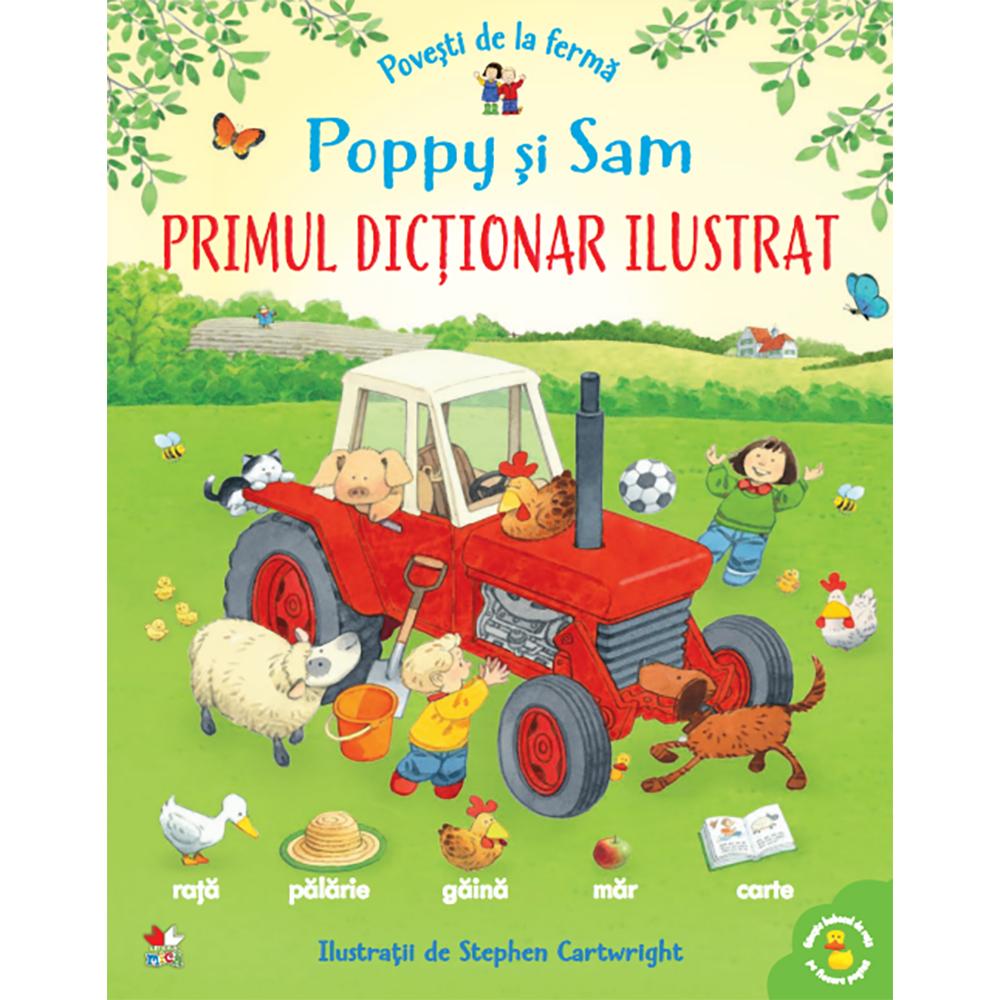 Carte Editura Litera, Povesti de la ferma. Poppy si Sam. Primul dictionar ilustrat