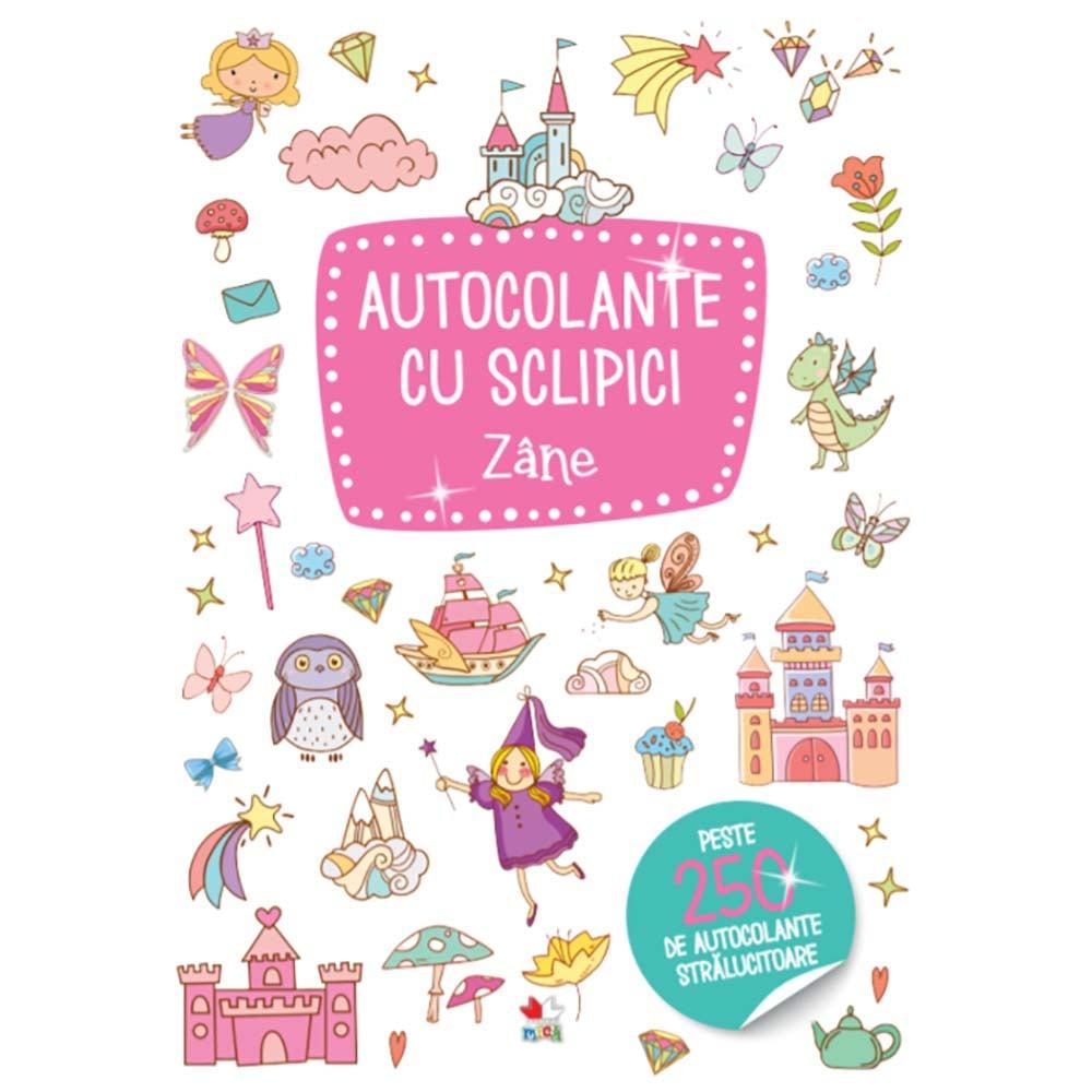 Carte Editura Litera, Autocolante cu sclipici. Zane