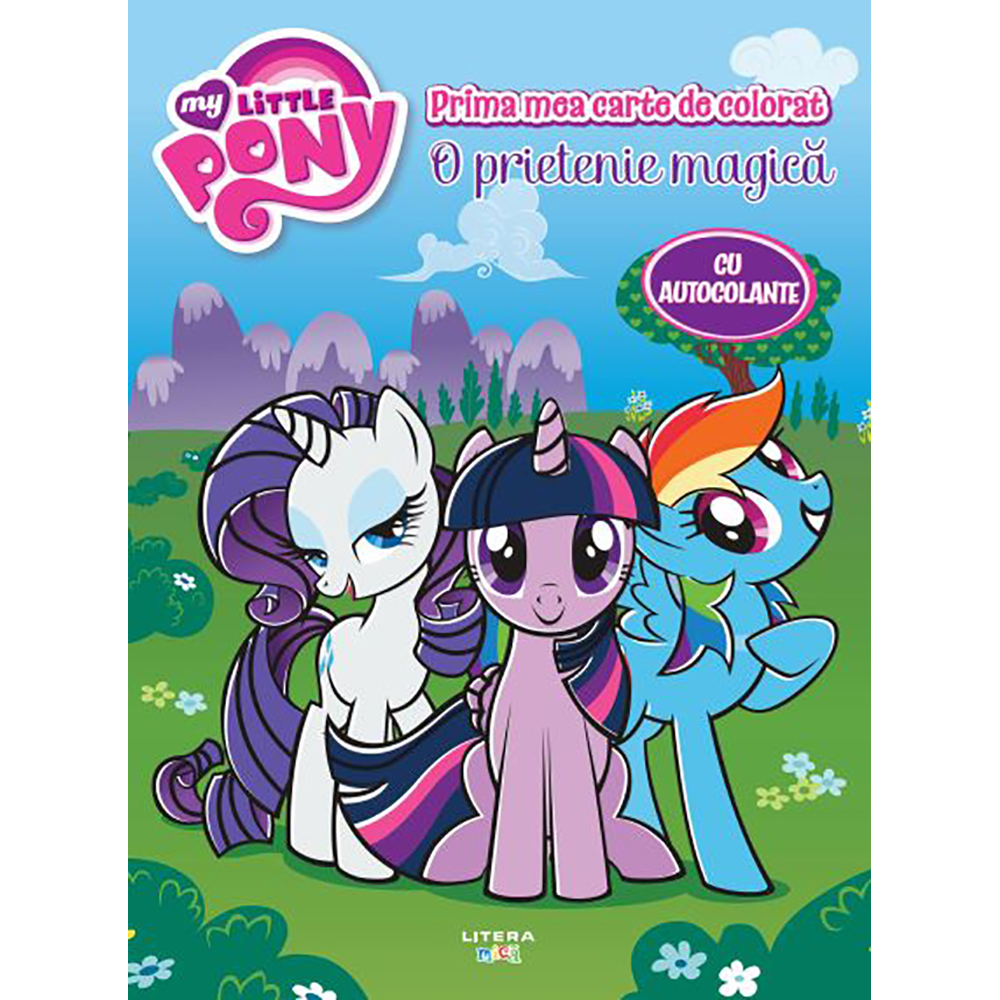 Carte Editura Litera, My Little Pony. Maxi Color