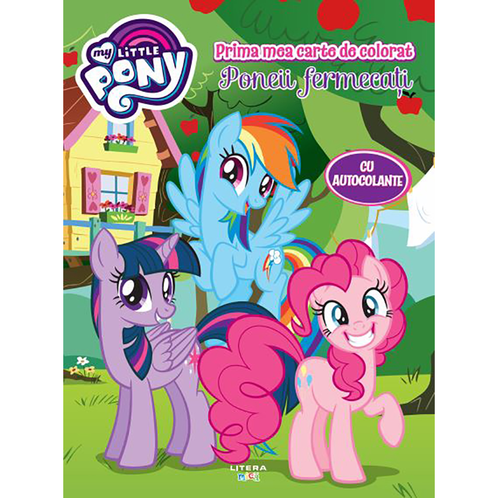 Carte Editura Litera, My Little Pony, Maxi color, Poneii fermecati