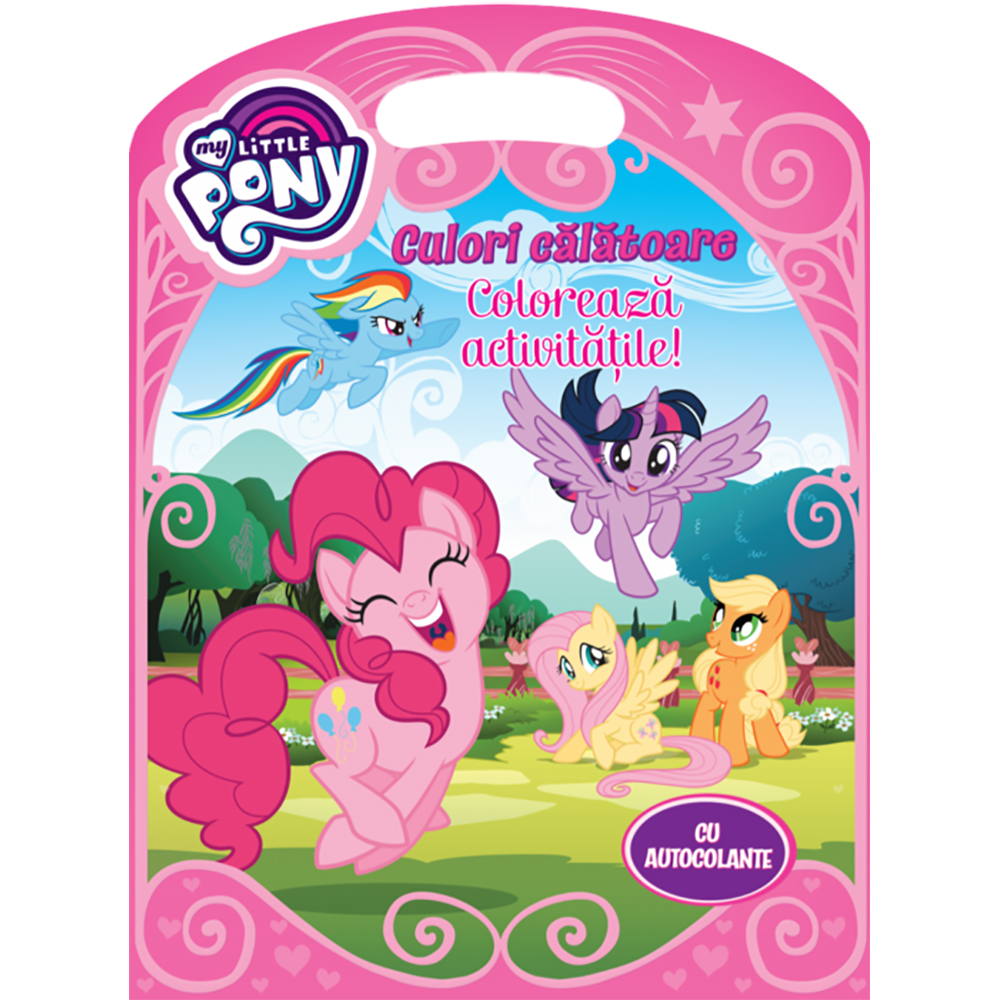 Carte Editura Litera, My Little Pony, Culori calatoare