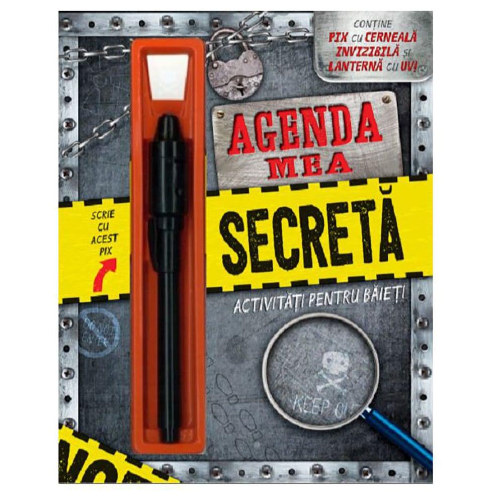 Carte Editura Litera, Agenda mea secreta. Activitati pentru baieti