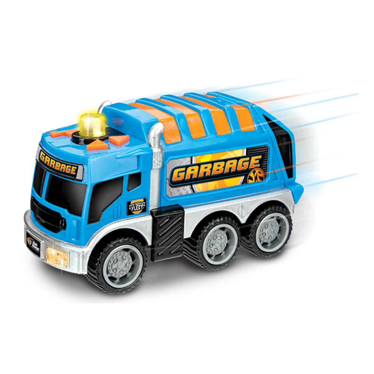 camion de gunoi toy state flota de intretinere a orasului